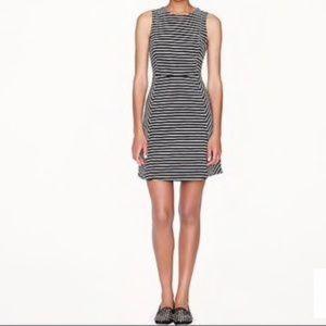 J. Crew Paneled stripe dress Size 8 Sleeveless